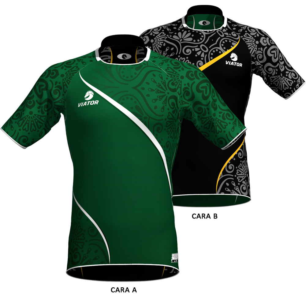 camiseta rugby viator 014 reversible 7