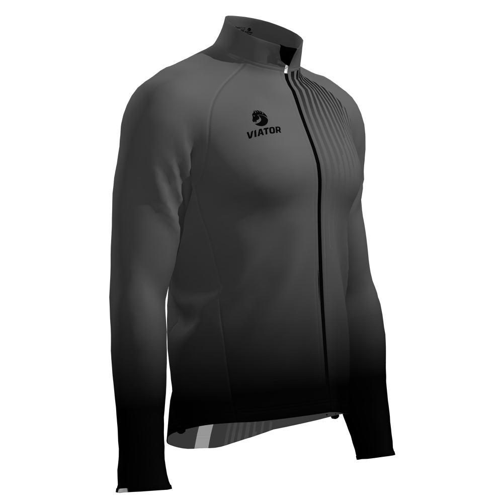 Membrana Viator Cycling gris lateral