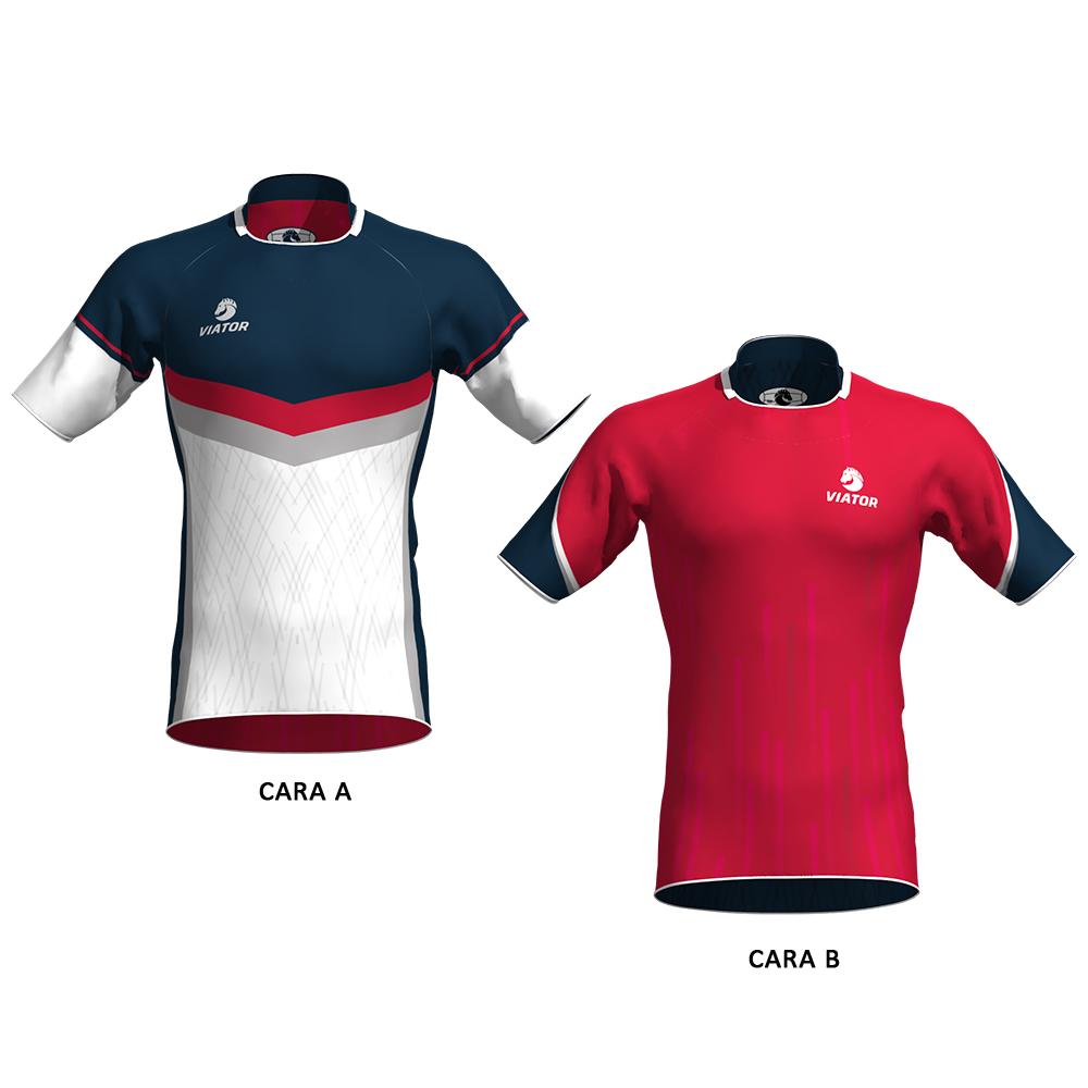 camiseta rugby viator 09 reversible 3