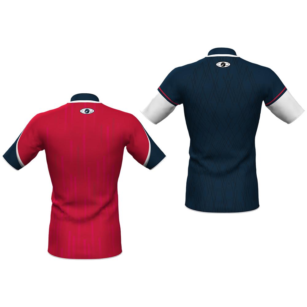 camiseta rugby viator 09 reversible 7