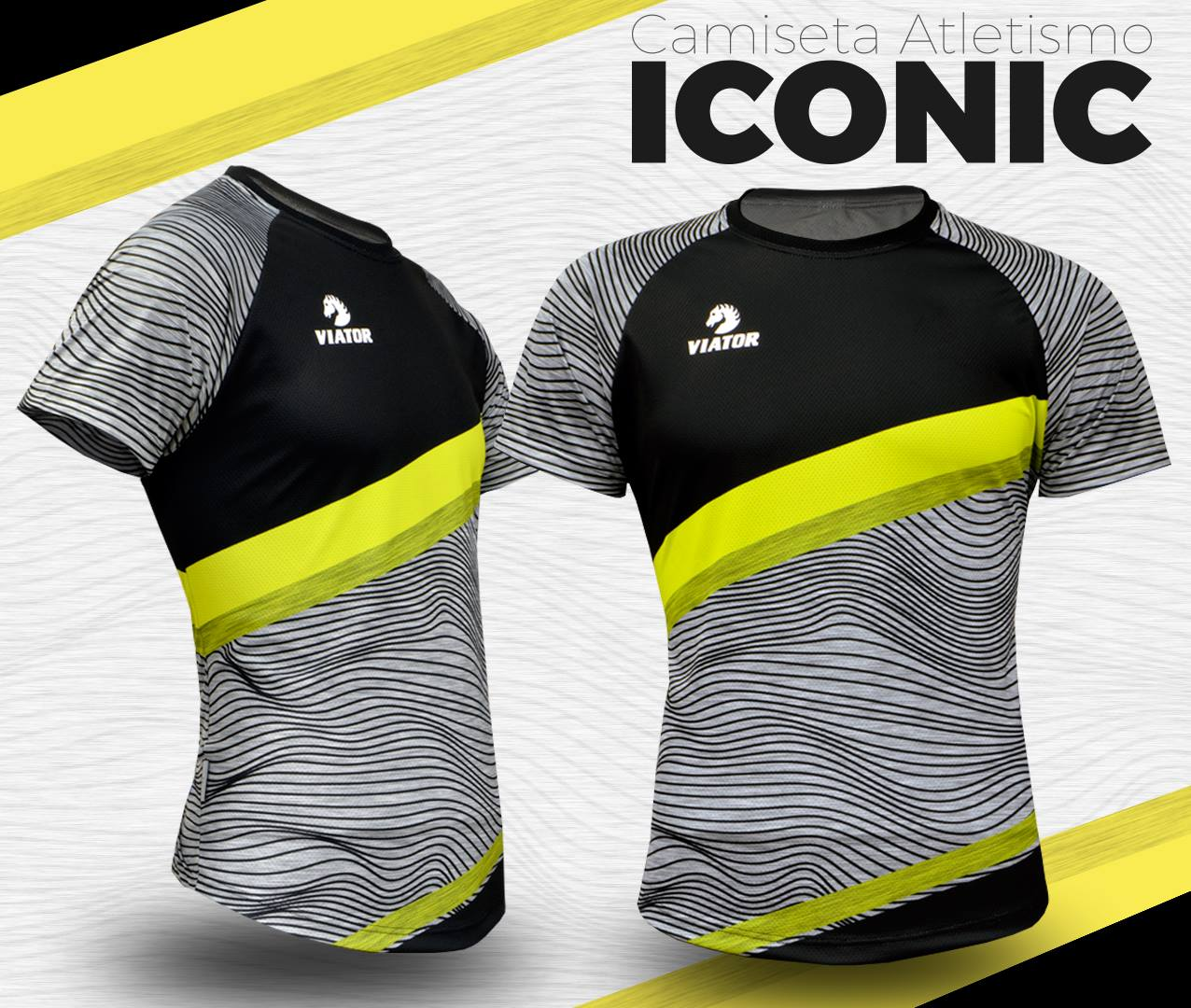 Camiseta de atletismo Viator Iconic