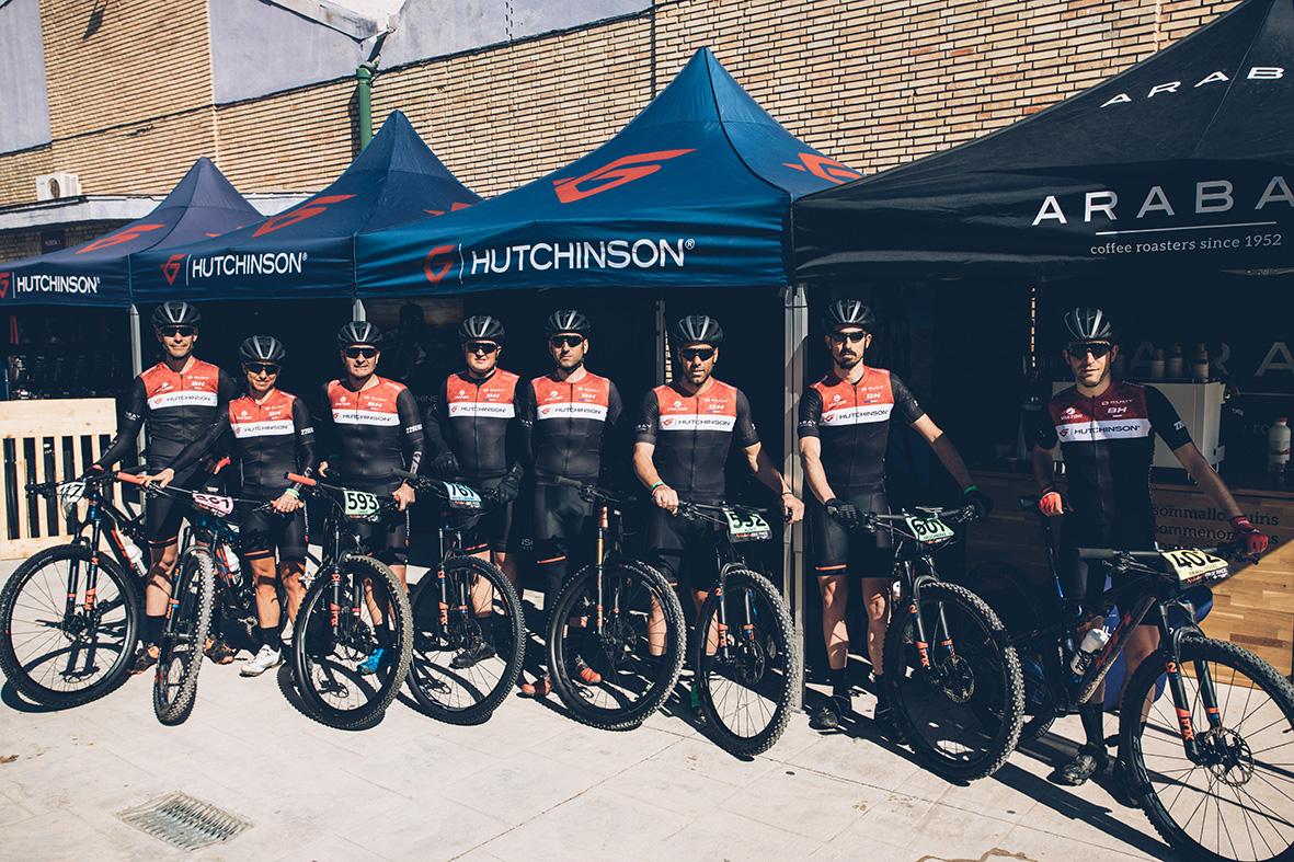 El Hutchinson Team en la Andalucía Bike Race 2020