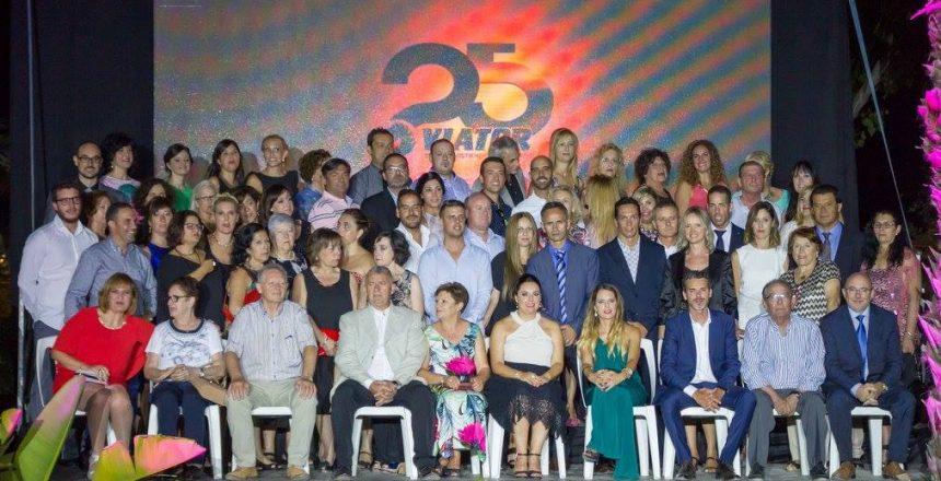 Gala de los 25 años de Viator, una empresa familiar dedicada en cuerpo y alma a la venta de equipamiento y ropa deportiva personalizada de todo tipo de deportes: trail, ciclismo, rugby...